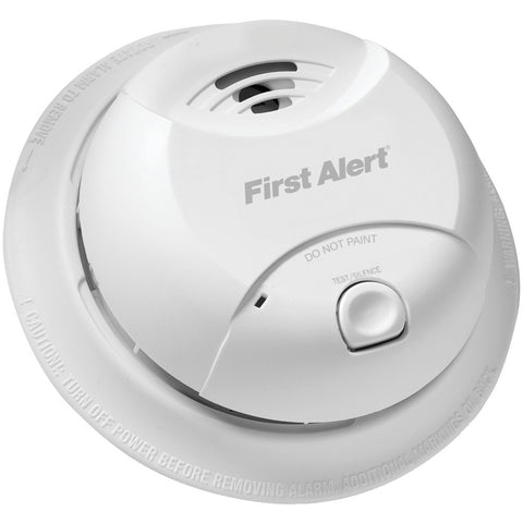 First Alert 10-year Sealed-battery Ionization Smoke Alarm Round