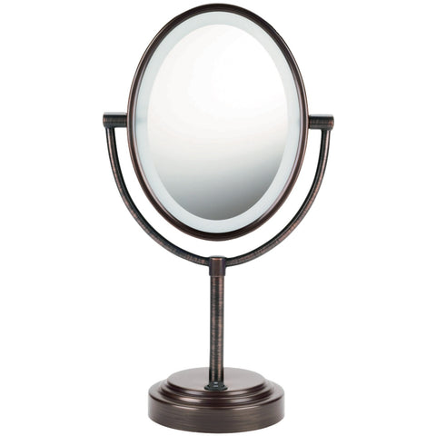 Conair Lighted 2-sided Mirror (oiled Bronze)