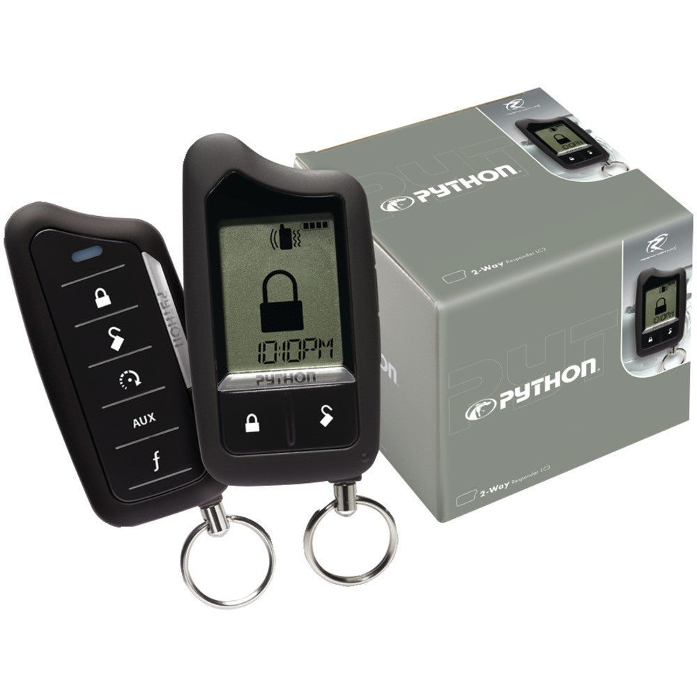 Python Responder Lc3 Sst 2-way Security System With Remote Start