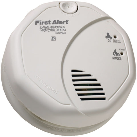 First Alert Battery-operated Combination Smoke And Carbon Monoxide Alarm With Voice Location