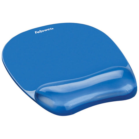 Fellowes Blue Crystal Mouse Pad
