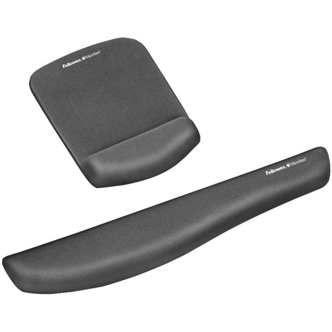 Fellowes Plush Touch Mouse Pad With Wristrest