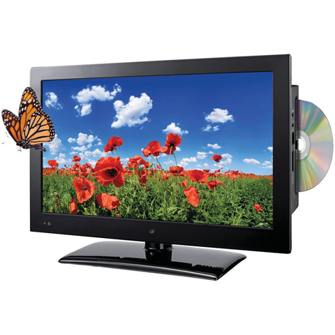 "Gpx 19"" 720p Led Hdtv And Dvd Combination"