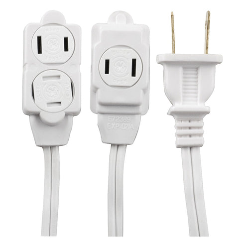 Ge 3-outlet Extension Cord 12ft