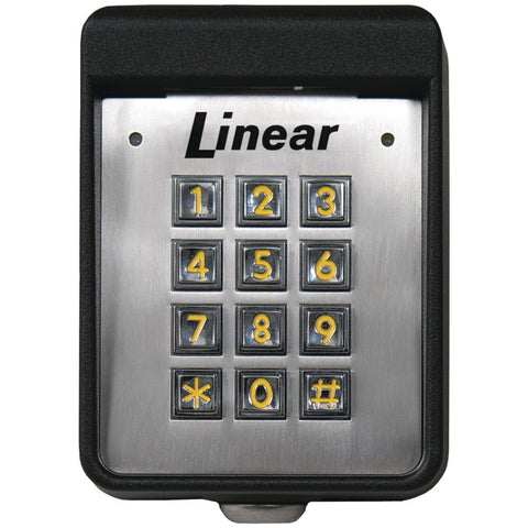 Linear Exterior Digital Keypad