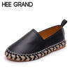 HEE GRAND Woman Loafers 2017 Fashion Style Soft PU Leather Shoes Shallow Flat For Women's Shoes XWD5803