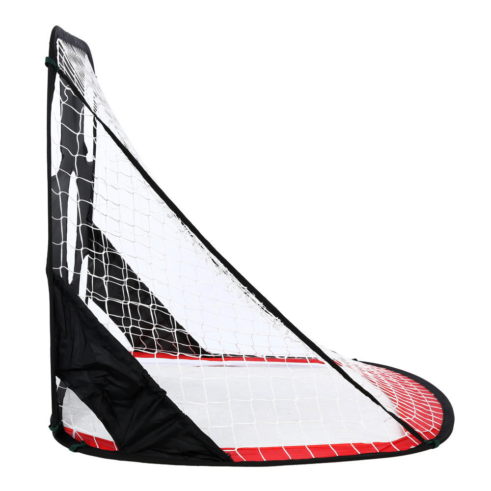 Kids Dual-use Foldable Portable Football Target Shot Goal Net Door Gate toys for kids drop ship