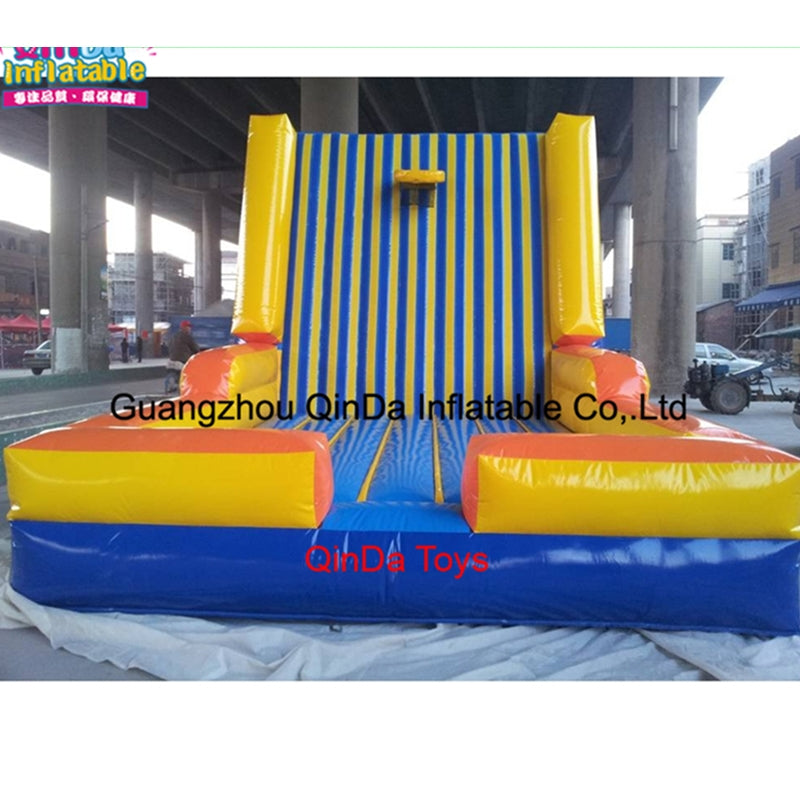 Big Inflatable Toys Inflatable Sticks Wall/Sticky Wall,Toys And Hobbies Kids Games Inflatable Magic Jump Wall Castle For Sale