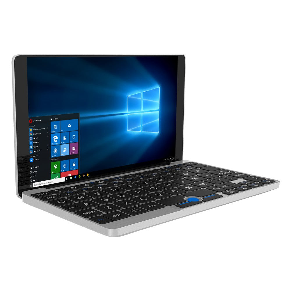 GPD Pocket 7 Inches Mini Laptop Tablet PC Windows 10 Intel Z8750 8GB / 128GB 2.4G & 5G WiFi Bluetooth 4.1 Type C IPS Touchscreen 7000mAh Battery EU Plug