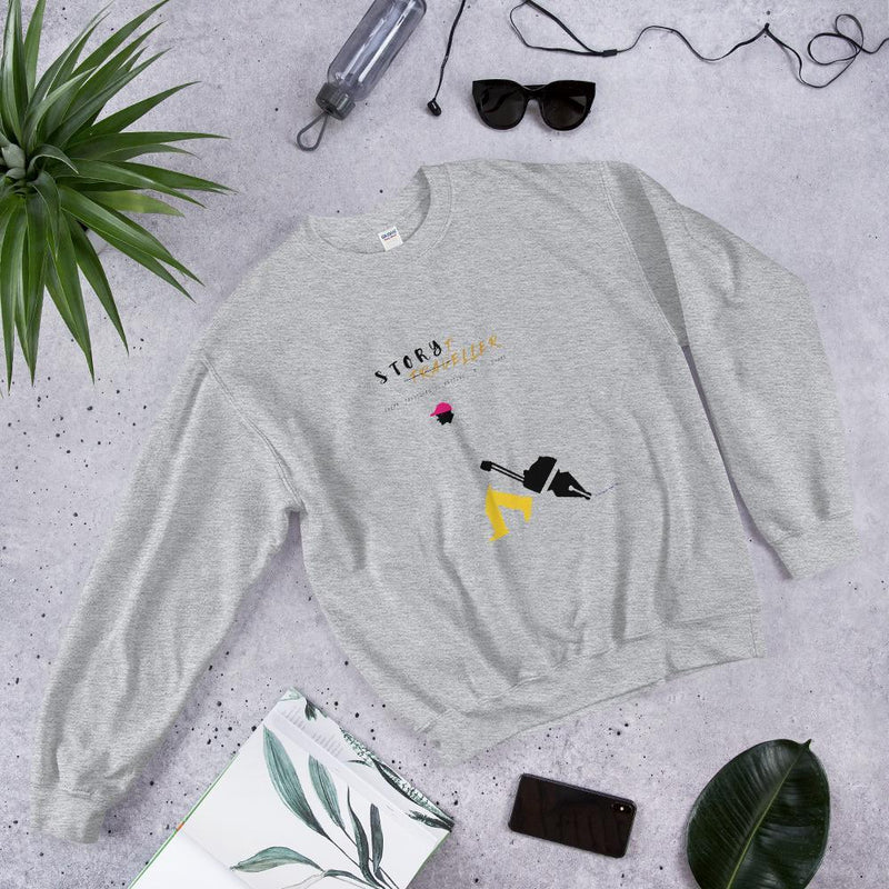 Story Teller- Men's Sweatshirt