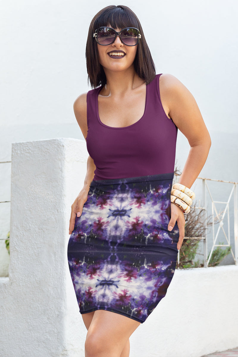 Dusk to Dawn Pencil Skirt