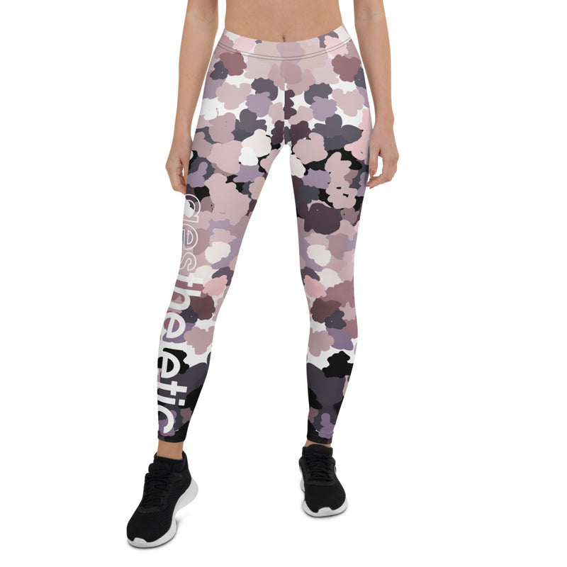 Brush Strokes Aestheletic Official Workout Leggings