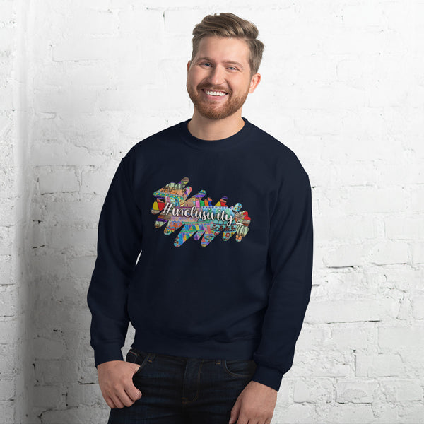 Gentle Giants: Coloured Strokes, #Inclusivity, Unisex Sweatshirt