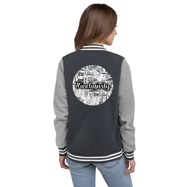 Cad Factory: Women's Letterman Jacket