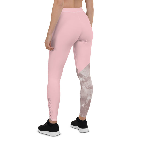 Orchestral Unison- Blush Pink Leggings