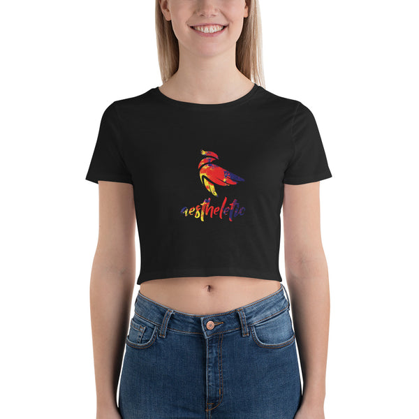 Aestheletic Official- Women's Crop Tee