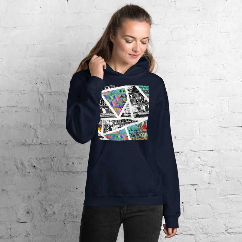 Gentle Giants: Geometric, Unisex Hoodie