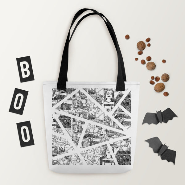 Cad Factory: Geometric, Tote Bag