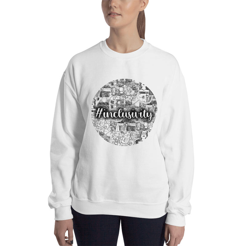 Cad Factory: Circle, #inclusivity, Unisex Sweatshirt