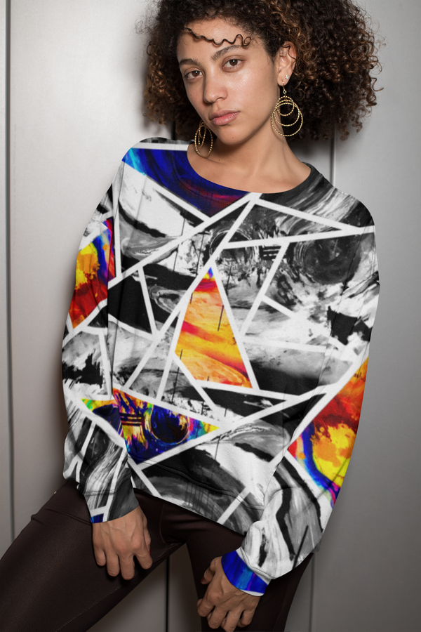 Circle of Conception, Coloured, All-over Print Unisex Sweatshirt
