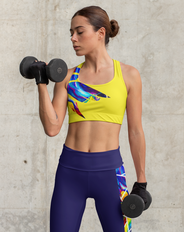 Circle of Conception, Yellow Sports Bra