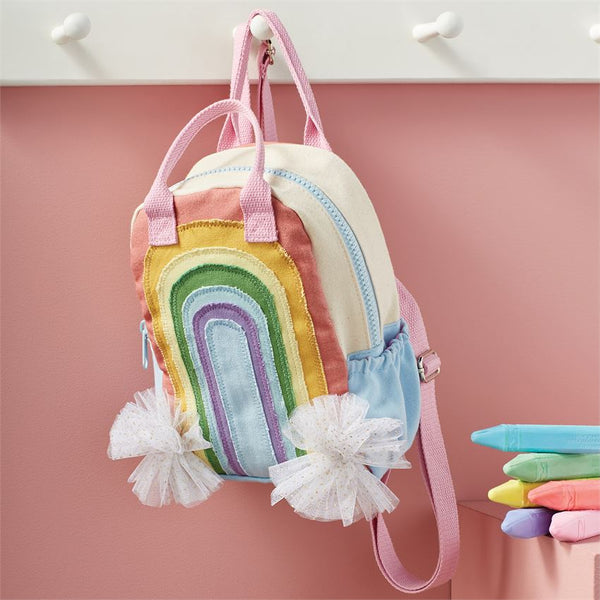 GIRL'S RAINBOW BACKPACK