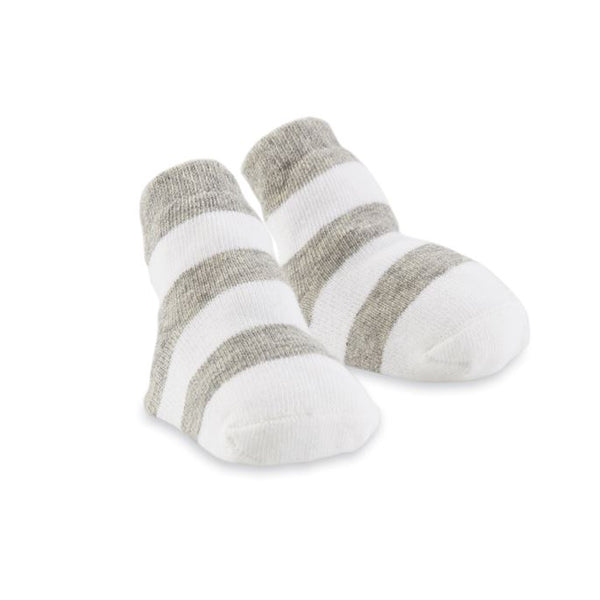 GRAY THICK STRIPE SOCKS.