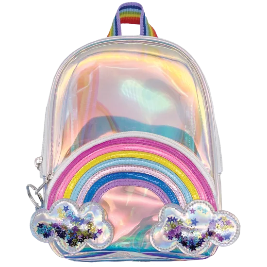 Rainbow and Stars Mini Backpack
