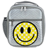 Checkered Smiley Face Chevron Lunch Tote