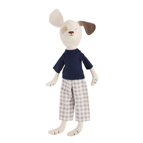 LARGE GINGHAM PANT PUPPY PLUSH PAL