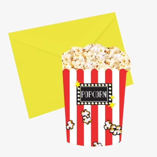 Popcorn Scented Notecards