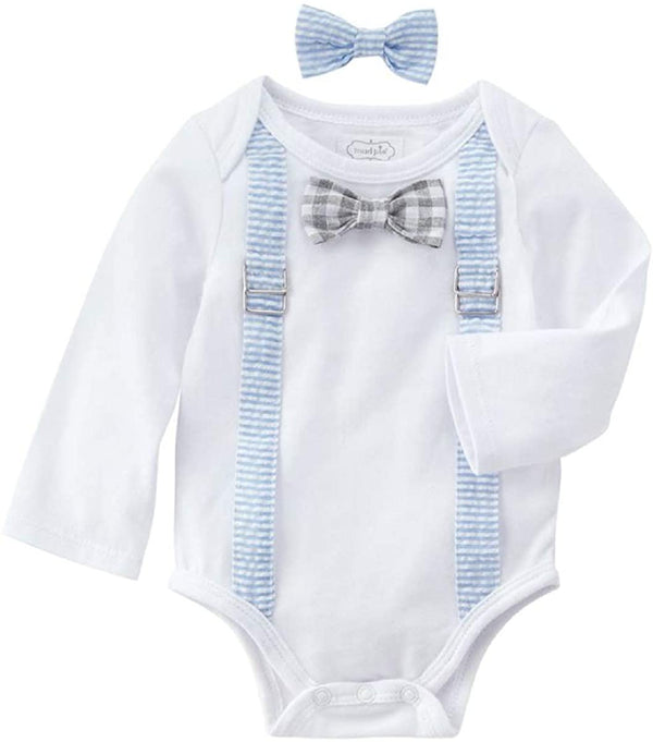 EASTER Crawler & Bow Tie Set