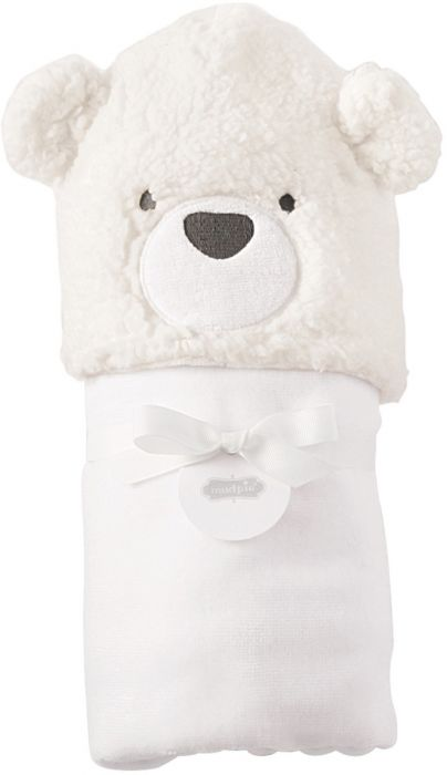 BABY BEAR HOODED TOWEL