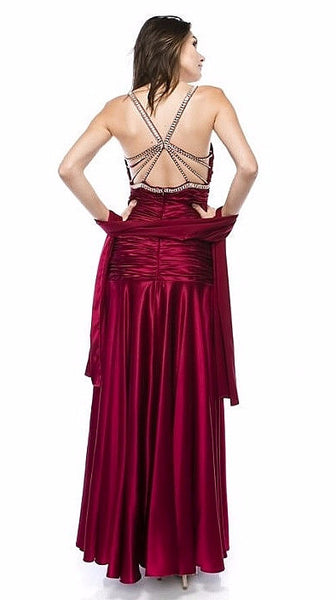 Chicas 61339 Burgundy (13 Colors/XS-3XL)