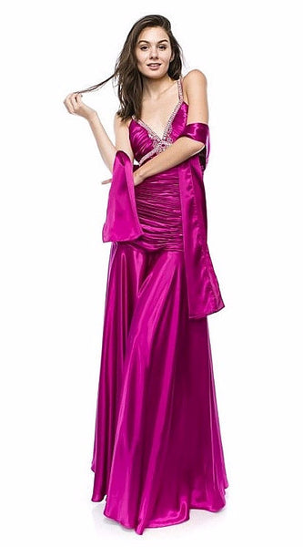 Chicas 61339 Fuchsia/Red (13 Colors/XS-3XL)