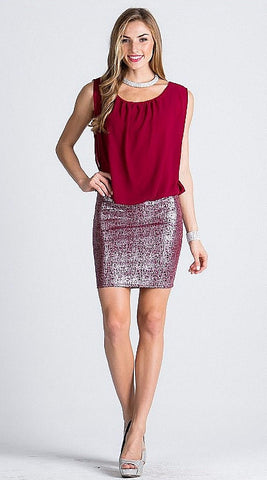 La Scala 23935 Burgundy (4 Colors/S-XL)