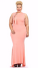 Sexy Diva Plus 1840SO Peach (5 Colors/1X-3X)