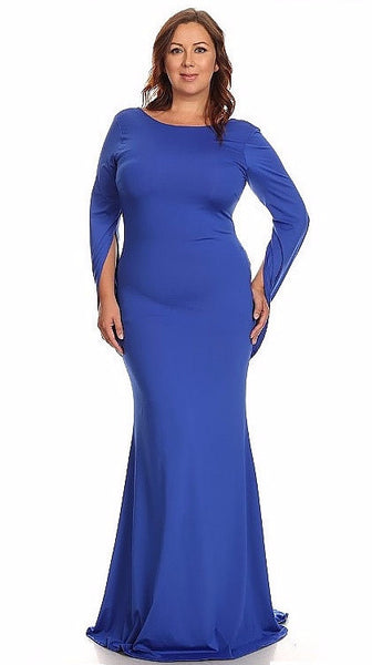 Sexy Diva Plus 1912 Royal Blue (6 Colors/1X-3X)