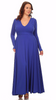 Sexy Diva Plus 2010SO Royal Blue (4 Colors/1X-3X)