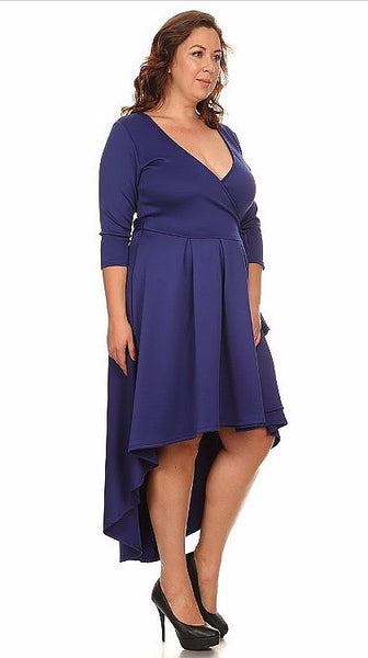 Sexy Diva Plus 2024SO Royal Blue (2 Colors/1X-3X)