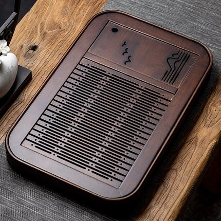 NATURAL BAMBOO TEA TRAY