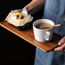 Load image into Gallery viewer, ACACIA WOOD TEA TRAY