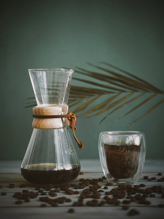 POUR-OVER GLASS COFFEEMAKER