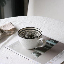 Load image into Gallery viewer, RETRO VINTAGE EMBOSSED CERAMIC TEACUPS