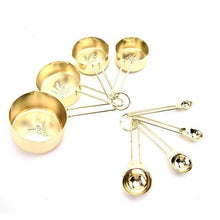 Load image into Gallery viewer, POLISHED GOLD MEASURING SET