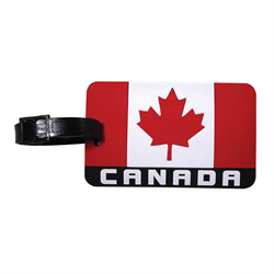 Luggage Tag- Canada Flag