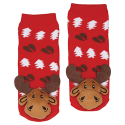 Socks - Moose Plush