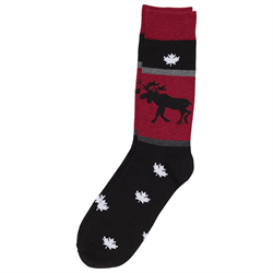 Socks - Moose Adult
