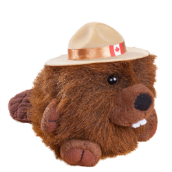 RCMP CHARACTER BUDDIES BEAVER 4.5""