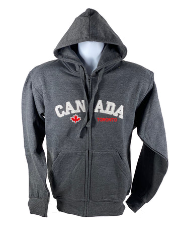 Fashion Appliqué Canada/Toronto Full Zip Sweater